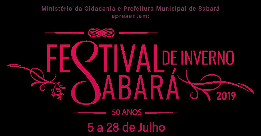 Programação do Festival de Inverno 2019 – Aniversário de Sabará