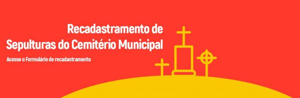 Recadastramento de Sepulturas do Cemitério Municipal de Sabará - MG - Formulário!